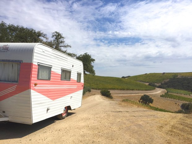 If you had any doubt about the trendiness of vintage trailers, check outthe new vineyard glamping option at Paso Robles' Alta Colina Winery, a partnership with Tinker Tin Trailer Company. (Photo: Tinker Tin and Alta Colina)