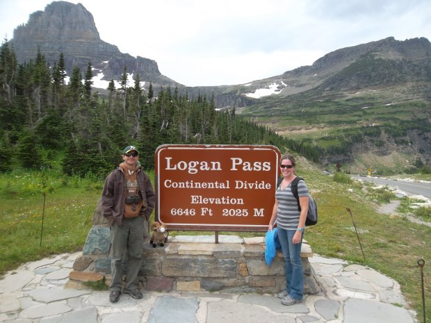 Courtesy of the Sorenson Family MONTANA: Oakland residents Sean and Caroline Sorenson visited Glacier National Park this summer.