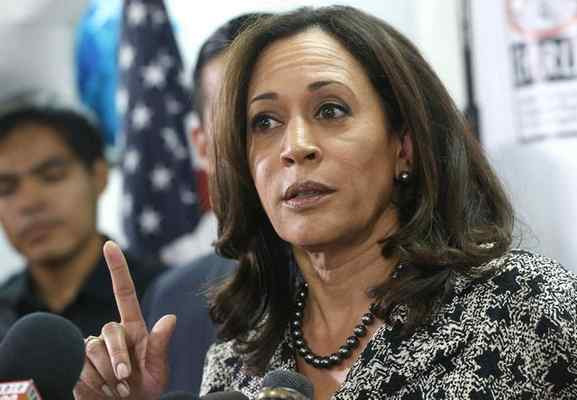 Senator-elect Kamala Harris speaks with immigrant families and their advocates, discussing the election results and the nation's future in Los Angeles, Thursday, Nov.10, 2016. Harris said she will fight to preserve protections advocates fear could be dismantled once Donald Trump becomes president. (AP Photo/Nick Ut)