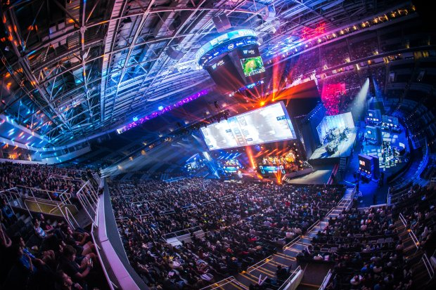 The Intel Extreme Masters drew 9,000 to 10,000 people a day when it was held at the SAP Center in San Jose in 2015.