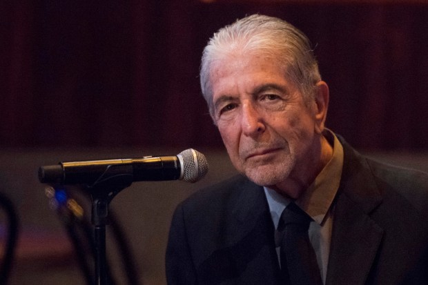 "FILE - In this Thursday, Sept 18, 2014, file photo, Leonard Cohen attends a listening party for his new album ""Popular Problems"" in New York. The late Cohen's epic cult classic `Hallelujah' has been covered more than 300 times since he first recorded it in 1984. (Photo by Charles Sykes/Invision/AP, File)"