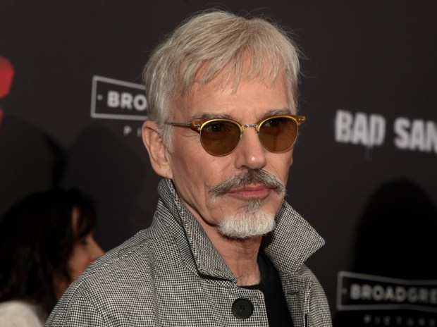 """Billy Bob Thornton attends the premiere of """"Bad Santa 2"""" at AMC Loews Lincoln Square on Tuesday, Nov. 15, 2016, in New York. (Photo by Andy Kropa/Invision/AP)"""