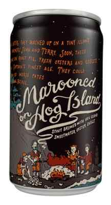 Marooned on Hog Island is a seasonal release, a collaboration between Hog Island Oyster Co. and 21st Amendment Brewery.
