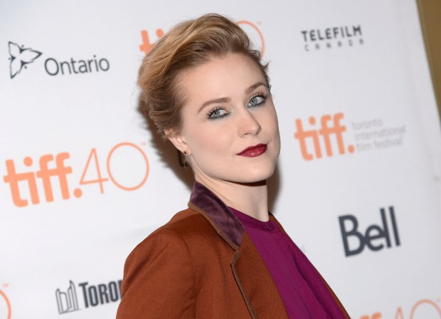 "FILE - In this Sept. 12, 2015, file photo, Evan Rachel Wood attends a premiere for ""Into the Forest"" at the Toronto International Film Festival at in Toronto. Wood has revealed that she has been raped twice. The revelation comes in a letter to Rolling Stone that Wood made public on Twitter Monday, Nov. 29, 2016. (Photo by Evan Agostini/Invision/AP, File)"