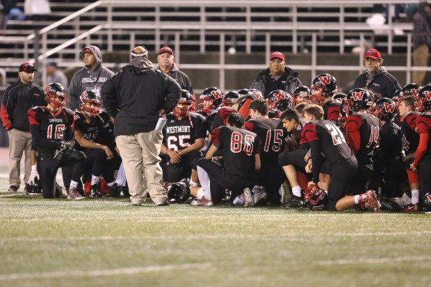 CCS football playoffs Westmont falls short in Division IV