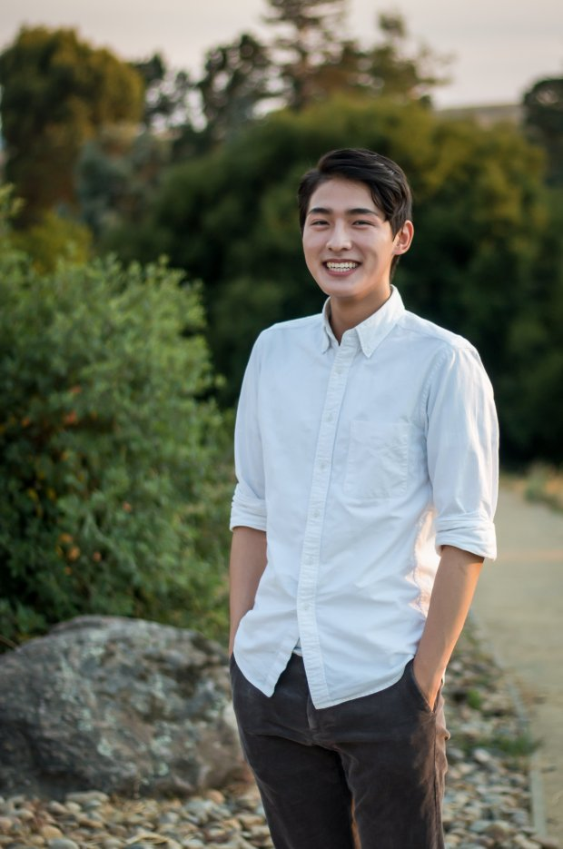 Alan Huang, 17, a senior at Palo Alto High, is one of the 30 semifinalists for the Breakthrough Junior Challenge, where students use short videos to bring to life a concept or theory in the life sciences, physics or mathematics. (Photo courtesy Alan Huang)