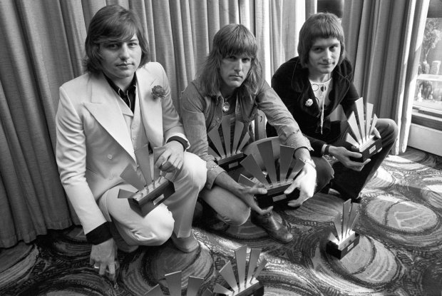 Sept. 30, 1972 : Greg Lake,  Keith Emerson and Carl Palmer. (PA File via AP)