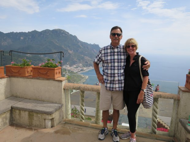 *ITALY:* In September, Concord residents Tony and Maura de Grassi visitedthe Amalfi Coast. (Courtesy of the de Grassi Family)