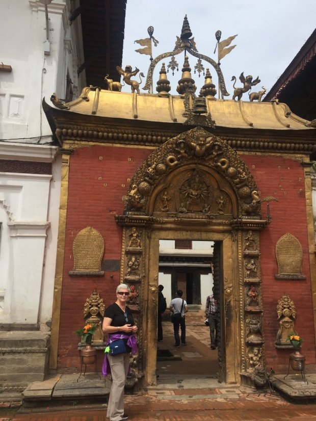 NEPAL: Saratoga resident Lynne Engelbert recently returned from a trip thatincluded stops in Bhaktapur, pictured, and a short trek into the countryside above the Kathmandu Valley. (Courtesy of Lynne Engelbert)