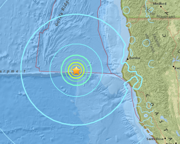 ferndale quake