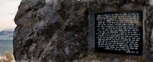 Sitting Bull Rock on Mt. Tam. (Courtesy Gary Yost)