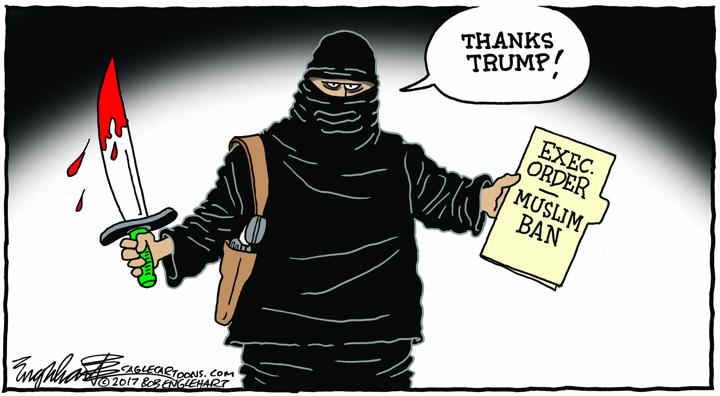 Bob Englehart / Hartford Courant