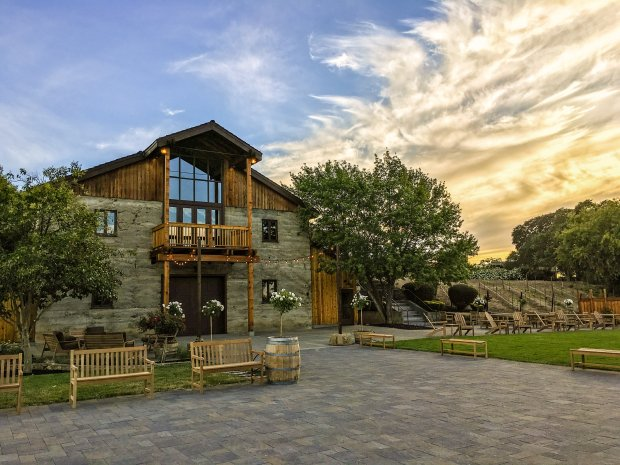 Murrieta's Well, a Wente-owned winery in Livermore Valley, recently completed a major renovation that expanded the winery's pleasant patio and revamped the tasting room. (Photo: Murrieta's Well)