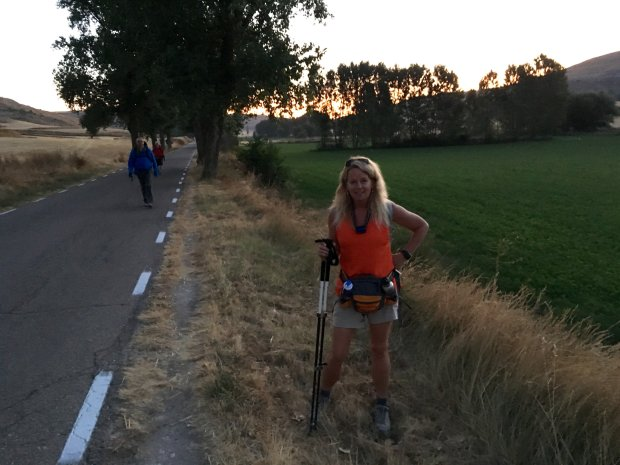 FRANCE: Lafayette resident Kim Overaa just returned from walking the Caminode Santiago French route, from St. Jean Pied de Port to the Cathedral in Santiago de Compostel 500 miles away. (Photo courtesy Kim Overaa)