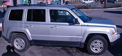 This silver Jeep Patriot was used by Terrell Anthony Norman, 18, of San Jose, during a string of purse-snatch robberies targeting older Asian women in San Jose, according to police. (Courtesy of San Jose Police Department)