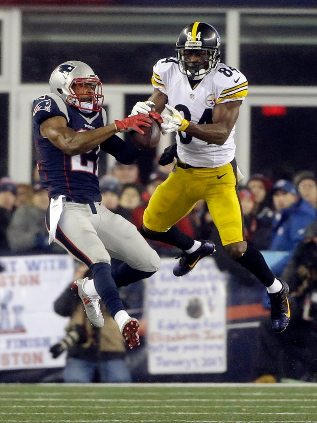 Antonio Brown Malcolm Butler
