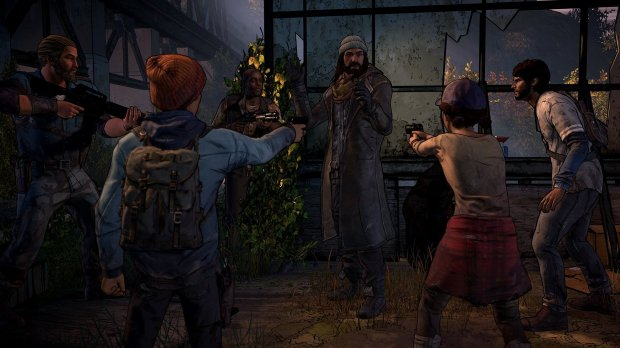 """The Walking Dead: The Telltale Series - A New Frontier"" lets players determine some parts of the narrative and that makes the storytelling so compelling."