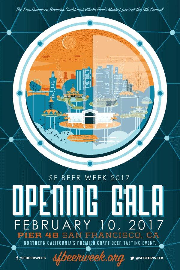 SF Beer Week kicks off on Feb. 10 with an opening gala on Pier 48. (SF BeerWeek)