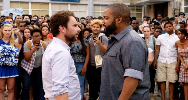 Charlie Day stars as Andy Campbell and Ice Cube as Stickland in 'Fist Fight.' (Warner Bros.)