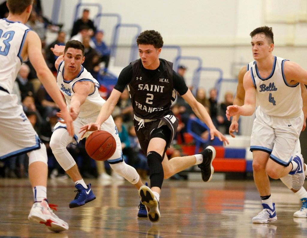 St Francis basketball star Logan Johnson makes college choice