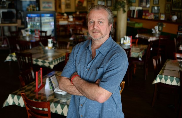 Rocco Biale photographed in his restaurant, Rocco's Pizza, in Walnut Creek, Calif., on Wednesday, Feb. 15, 2017. (Dan Honda/Bay Area News Group)