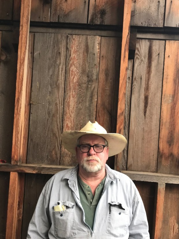 Rick Rogers, a 60-year-old Republican and trucker from La Honda, says he isimpressed that Trump is doing what he promised.