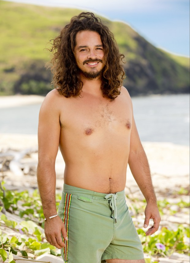 Oscar 'Ozzy' Lusth, 34, from Venice, California. On season 13: Cook Islands he was a runner-up. On season 16: Micronesia he finished ninth and was a member of the jury. On season 23: South Pacific he finished fourth and was a member of the jury. (Robert Voets/CBS)