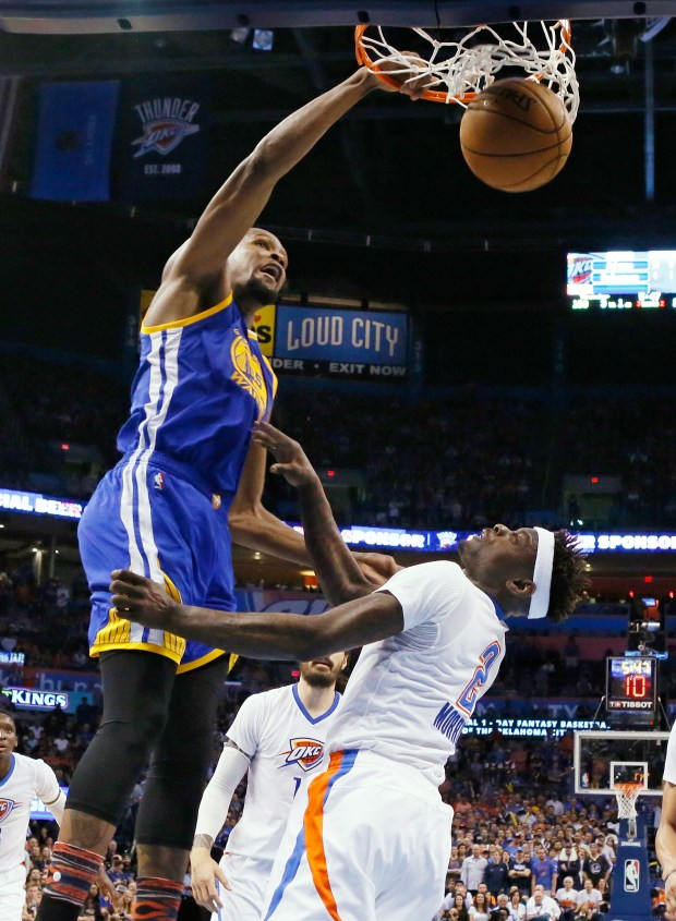 Warriors Beat Thunder In Kevin Durants Emotional