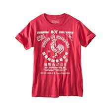 The man found dead in Monterey Bay Saturday was wearing a Sriracha-brand t-shirt like this one. (Santa Cruz County Sheriff's Office)