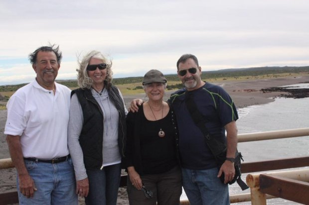 Courtesy of the Barrandeguy FamilyARGENTINA: Llongtime friends Rick and Marilyn Esparza, from Los Gatos, and Ansilla and Roberto Barrandeguy, of San Jose, traveled to Argentina last fall.