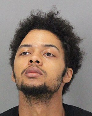 Quanzell Butcher, 22, of Santa Clara, was arrested Monday on suspicion of human trafficking of a minor and pimping of a minor. (Courtesy of the Santa Clara County Sheriff's Office).