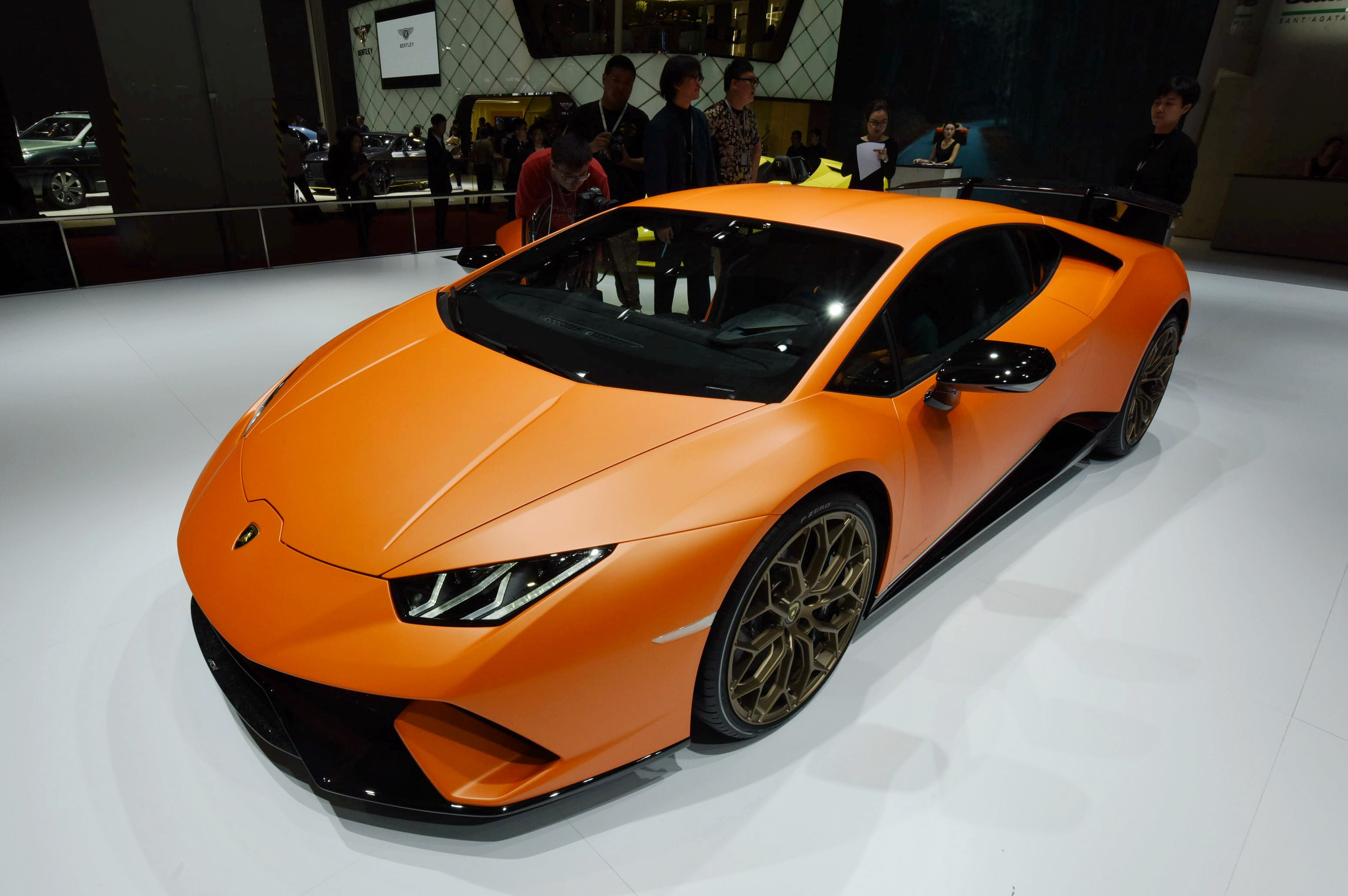Lamborghini Huracán Performante. (AFP Getty)