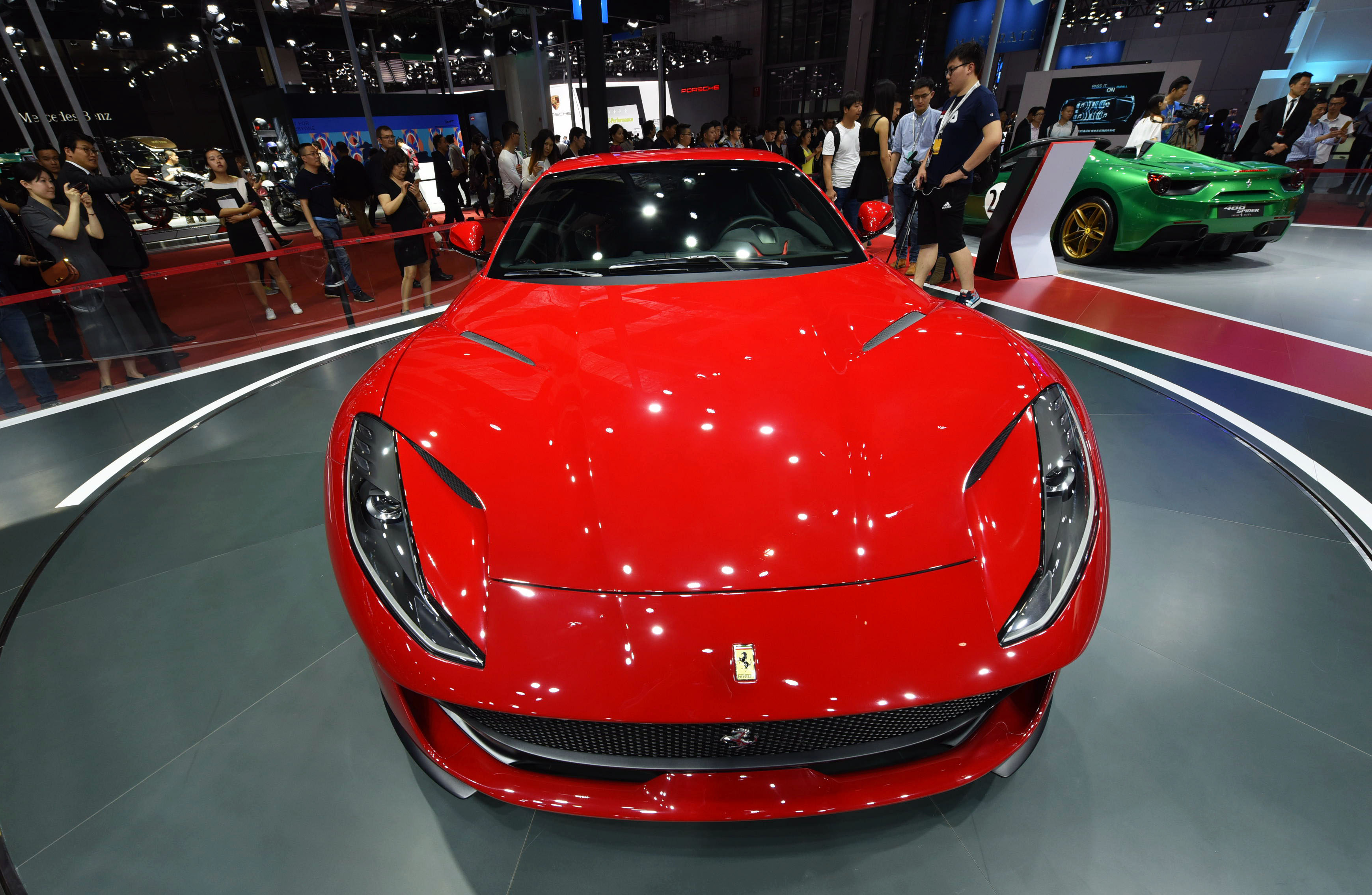 Ferrari 812 Superfast. (AFP Getty)