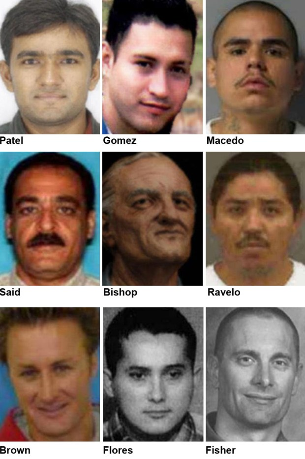 FBI's Ten Most Wanted: The list after new addition
