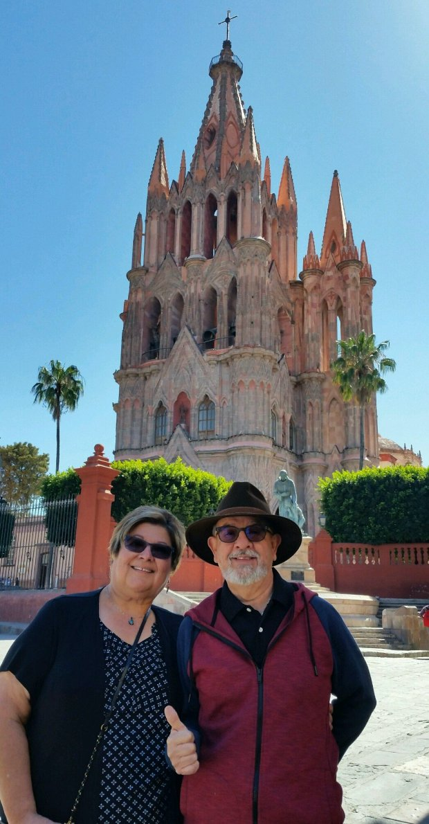 MEXICO: Fremont residents Larry and Rosemary Martinez are just back fromSan Miguel de Allende, where they saw the Parroquia de San Miguel Arcangel, pictured. (Courtesy of the Martinez Family)