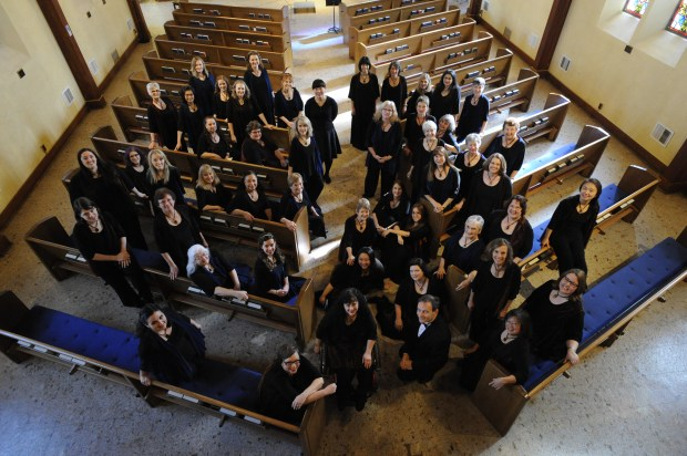 The Peninsula Women's Chorus celebrates its 50th anniversary with a concert this April 30, 2017. (Photo courtesy of Rick English Pictures)