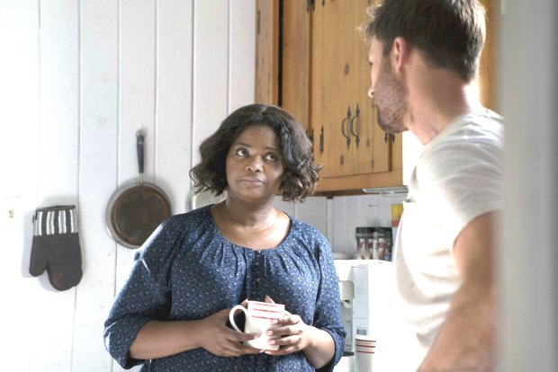 "Octavia Spencer, left, and Chris Evans in ""Gifted."" (Wilson Webb/FoxSearchlight Pictures)"