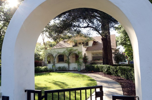 Photograph by George SakkestadLos Gatos homeowner Katherine Marrufo thinks her historic home may be haunted by a friendly ghost. People can tour Marrufo's home on April 22-23, when the Historic Homes Tour returns to town.