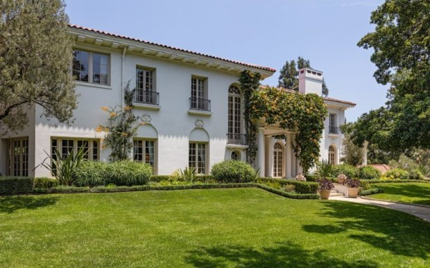 Angelina Jolie reportedly purchased the former Los Angeles home of Cecile B. DeMille for $25 million. (Hilton & Hyland)