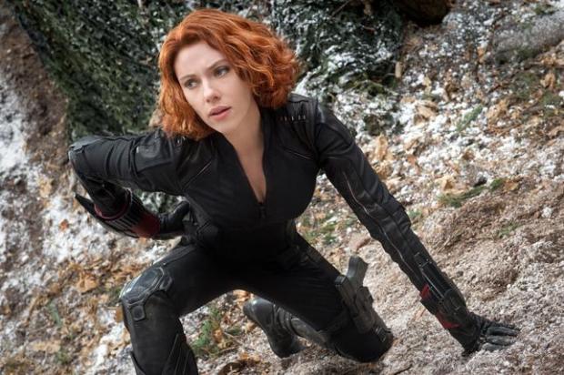Black Widow/Natasha Romanoff (Scarlett Johansson) in 'Marvels Avengers: Age Of Ultron.' (Jay Maidment/Marvel)