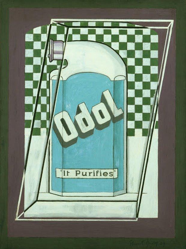 "Stuart Davis' ""Odol"" (1924) is featured in ""Stuart Davis: In Full Swing"" atthe de Young Museum. (Museum of Modern Art, New York/© Estate of Stuart Davis)"