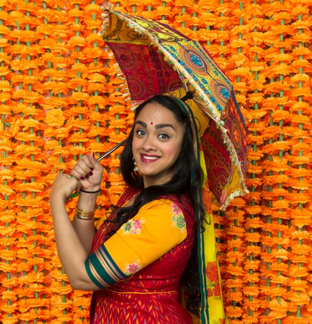 "KEVIN BERNE/BERKELEY REPERTORY THEATREAnisha Nagarajan stars in ""Monsoon Wedding,"" a musical adaptation of the hit 2001 wedding, gets its world premiere at Berkeley Repertory Theatre."