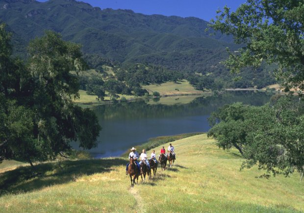Reclaim that feeling of summer camp -- with a grown-up culinary feel -- atSolvang's Alisal Guest Ranch & Resort, where the BBQ Boot Camp offers grill classes and spice tips, as well as time for horseback riding, golf, fishing and more. (The Alisal)