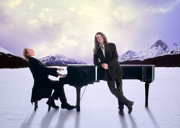 Trans-Siberian Orchestra co-founders Robert Kinkel, left, and Paul O'Neill in a handout publicity photo.
