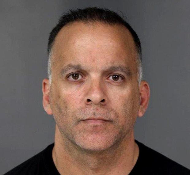 Darrell Harris, the chief deputy coroner for Marin County, was arrested in Eureka on May 4, 2017, on molestation charges from Marin. (Humboldt County Jail photo)