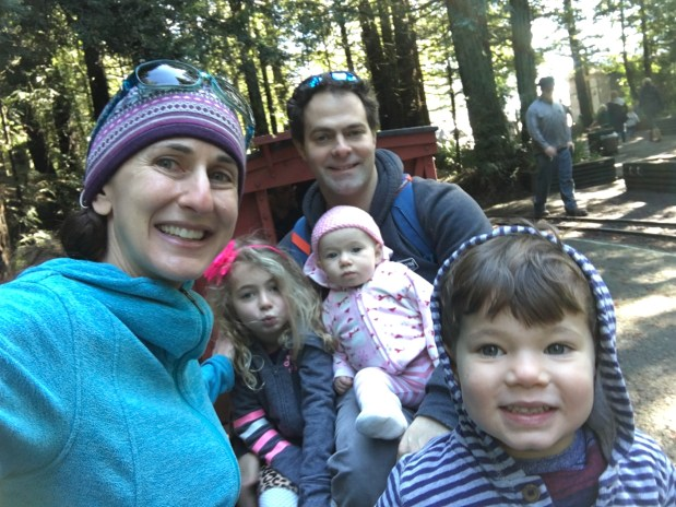 Melissa Quiter and her family, including Zara, 6, Wynton, 3 and Juno, 10 months.