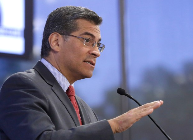 California Attorney General Xavier Becerra signed a letter to Betsy DeVos urging her to do more to help former Corinthian College students. (AP Photo/Rich Pedroncelli)