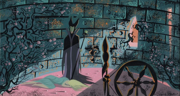 "WALT DISNEY FAMILY MUSEUMEyvind Earl's concept painting for the animated film ""Sleeping Beauty"" is part of a new exhibited devoted to the artist at the Walt Disney Family Museum in San Francisco."