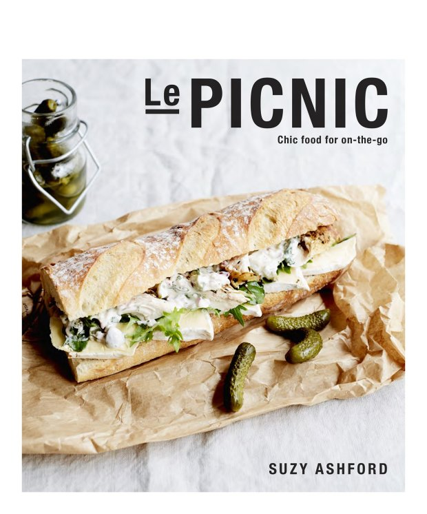 "Suzy Ashford gives al fresco dining the French treatment in a chic newcookbook, ""Le Picnic,"" from Smith Street Books."