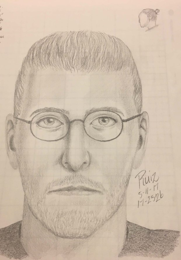Police are asking for the public's help in identifying this man, who is suspected of exposing himself to a woman and her toddler on a trail in the Palo Alto Baylands on Wednesday. (Courtesy of the Palo Alto Police Department)